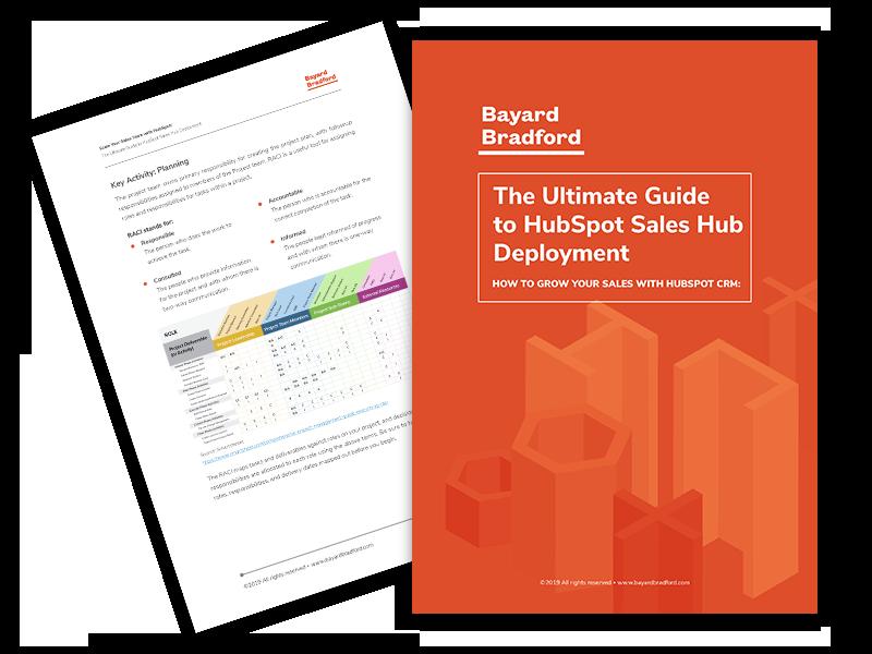 HubSpot Sales Hub Deployment