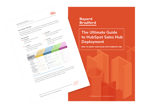 HubSpot Sales Hub ebook